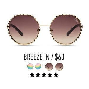 QUAY Breeze in sunglasses